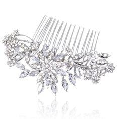 Ever Faith österreichischen Kristall Blume Art Deco Schneeflocke Haarkamm Haarschmuck - Silber-Ton N01163-1 Ever Faith http://www.amazon.de/dp/B00IJ13OMS/ref=cm_sw_r_pi_dp_EqBWvb1HWWA57