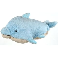My Pillow Pet Dolphin - Small (Light Blue) * Click image for more details. (This is an affiliate link) #PlushPillows