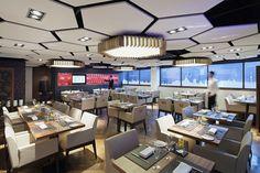 Faux-plafond acoustique / décoratif / en fibre minérale / en îlot OPTIMA CANOPY CS5444 Armstrong ceilings - Europe