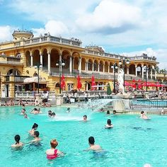 Przedłużona majówka w słynnych źródłach termalnych Széchenyi w Budapeszcie. #latergram #elletravels #citybreak #budapest #hungary #szechenyi #thermalbaths #spa #relax #chill #swimming #pool #swimmingpool #ellepl  via ELLE POLAND MAGAZINE OFFICIAL INSTAGRAM - Fashion Campaigns  Haute Couture  Advertising  Editorial Photography  Magazine Cover Designs  Supermodels  Runway Models