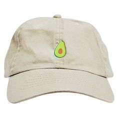 84198030fe8 Avocado Dad Hat Baseball Cap Low Profile