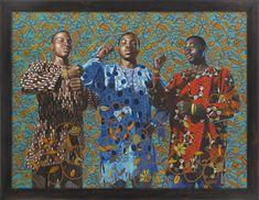 Kehinde Wiley -three Wise Men Greeting Entry Into Lagos,2008