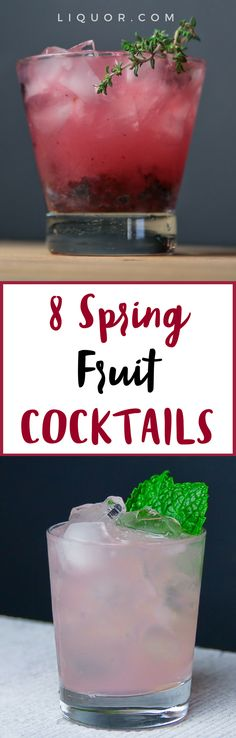 8 #Spring #cocktails that are perfect with the fruits of the season