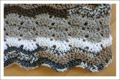 Crochet zigzag