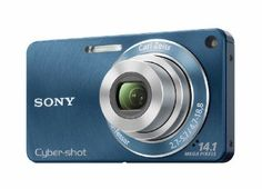 Sony DSC-W350 14.1MP Digital Camera with 4x Wide Angle Zoom with Optical Steady Shot Image Stabilization and 2.7 inch LCD (Blue) by Sony. $159.99. From the Manufacturer                The DSC-W350 captures images with amazing detail with its Carl Zeiss 26mm wide angle 4x zoom lens. Take breathtaking panoramas in Sweep panorama mode and review them on a 2.7-inch LCD. Record 720p high definition movies while Optical SteadyShot image stabilization, iAuto and Face Motion Detect...