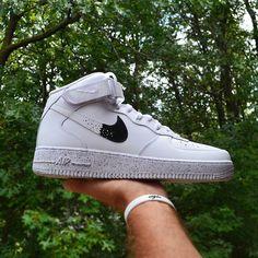 72ae5aae4c5 New Nike Air Force 1 Custom Oreo AF1 Sneakers High Quality All