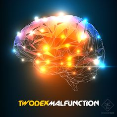 TwoDex - Malfunction #ep #artwork #albumart #coverart #techno #music #dj #twodex #designbygeo