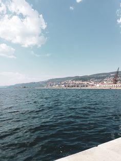 Trieste Harbour Trieste, River, Beach, Outdoor, Outdoors, The Beach, Outdoor Games, Outdoor Living, Rivers