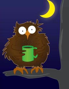 Creature of the coffee, ehmm.. night!
