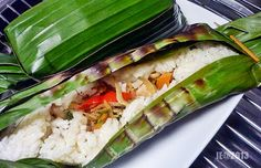 Ibueasycooking : Resep Nasi Bakar Teri Medan Plus Udang