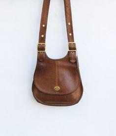 Vintage Rare Authentic COACH Saddle Bag by redpoppyvintageshop, $115.00