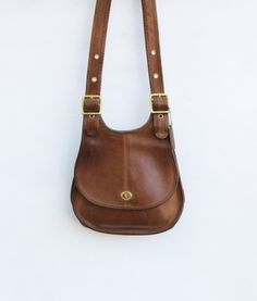 Vintage Rare Authentic COACH Saddle Bag by redpoppyvintageshop, $115.00