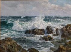 Charles Vickery (title unknown),  oil on canvas
