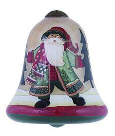 Ne'Qwa Merry Christmas Santa Ornament