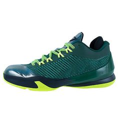 29a671099fe4aa Nike Jordan CP3.VIII Mens 684855-350 Gorge Green Volt Basketball Shoes Size  10
