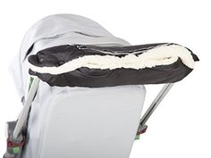 Very durable and cosy handmuff with zipped pocket. Fastens to the handlebar with extremely durable latches. Muff is one of those accessories to the stroller, which especially in winter, can not fail. Your hands will remain in the warm and dry, even during cold days, and keeping the wheelchair in... see more details at https://bestselleroutlets.com/baby/strollers-accessories/product-review-for-kutnik-handmuff-baran-with-sheeps-wool-black/