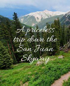 A priceless trip down the San Juan Skyway | The drive of a lifetime! #sanjuan #travel #colorado
