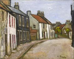 George Leslie Hunter, Street in Fife - The Scottish Gallery, Edinburgh - Contemporary Art Since 1842