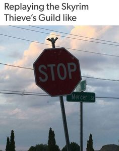 Skyrim Thieve's Guild.                                                                                                                                                                                 More