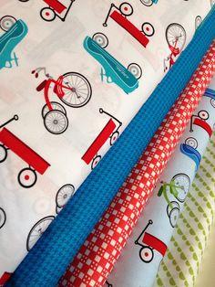 Retro Racers bundle by Terri Hanson for Robert Kaufman- Fat Quarter Fabric Bundle, 5 total on Etsy, $15.00