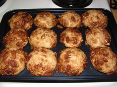 Brunch Yogurt Streusel Muffins