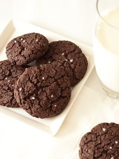 Chocolate Black Bean Cookies - Loaded with Fiber and Amazingly Delicious!