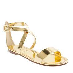 Kira metallic sandals