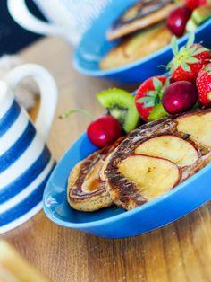 Hjemmelaget protein pannekaker Olympus Digital Camera, Vegetables, Ethnic Recipes, Food, Blogging, Essen, Vegetable Recipes, Meals, Yemek