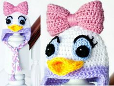 Daisy Duck pattern - free from The Whoot.
