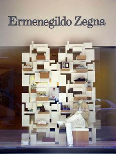 "Ermenegildo Zegna,Milan Italy,""monitoring the building blocks"", pinned by Ton van der Veer"