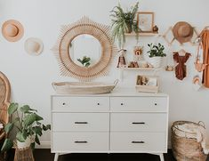 Modern Neutral Nursery Full of Plants - Inspired By This