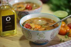 Cleansing soup | Olive Oils from Spain