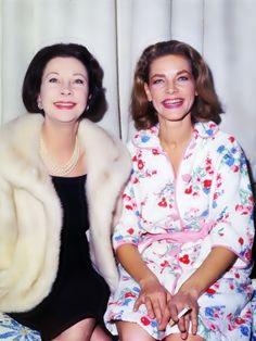Vivien Leigh & Lauren Bacall