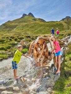 Wasser TUX-Welten #wasser #kinder #spaß #frische #sommer #sommerurlaub #urlaub #berge #tirol #zillertal #tux #finkenberg