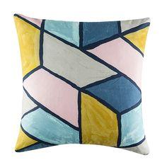 Pastel Prints Cushion 50x50cm For Real Living  Multi