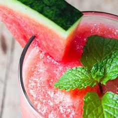 Watermelon Mint Smoothie