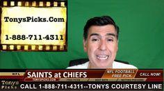 New Orleans Saints vs. Kansas City Chiefs Pick Prediction NFL Pro Footba...