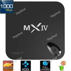 TRONFY MXIV TV BOX, Discount Coupon From Tinydeal - Mobiles-Coupons Discount Coupons, Android 4, 4 H, Mobiles, Gadgets, Boxes, Crates, Mobile Phones, Box