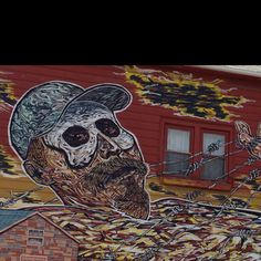 Pilsen mural - many around national Mexican Museum of Art