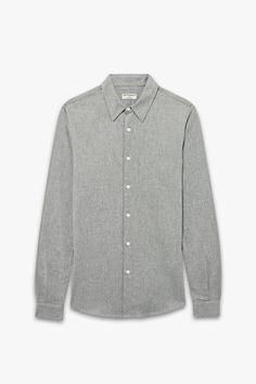 Chemise flanelle grise - Éditions MR