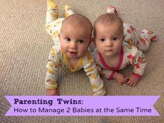 Twins are double the fun, but come with challenges! blog.rightstart.com