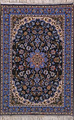 Esfahan Persian Rug, Buy Handmade Esfahan Persian Rug 2 4 x 3 6, Authentic Persian Rug $1,540.00