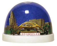 Los Angeles Airport Snow Globe