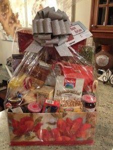 Christmas Gourmet Food Gift Basket!