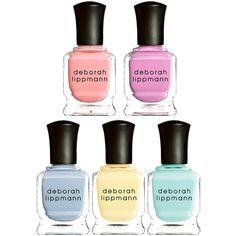 Deborah Lippmann Nail Polish (£29) ❤ liked on Polyvore
