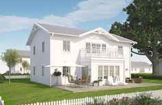 Villa Vaxholm   A-hus