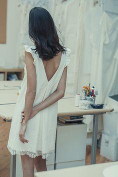 La nouvelle collection civile de robes de mariée Laure de Sagazan enfin  dévoilée 89b6ef724f5