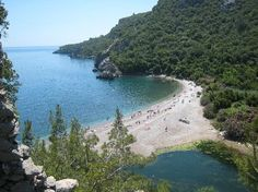 Cirali and Olympos Beach, Turkey  Worked for 5 months here...loved it.