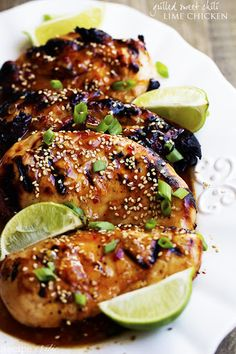 Grilled Sweet Chili Lime Chicken Recipe on Yummly. @yummly #recipe