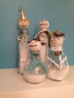 Vintage Snowpeople. Season One, Episode Two.